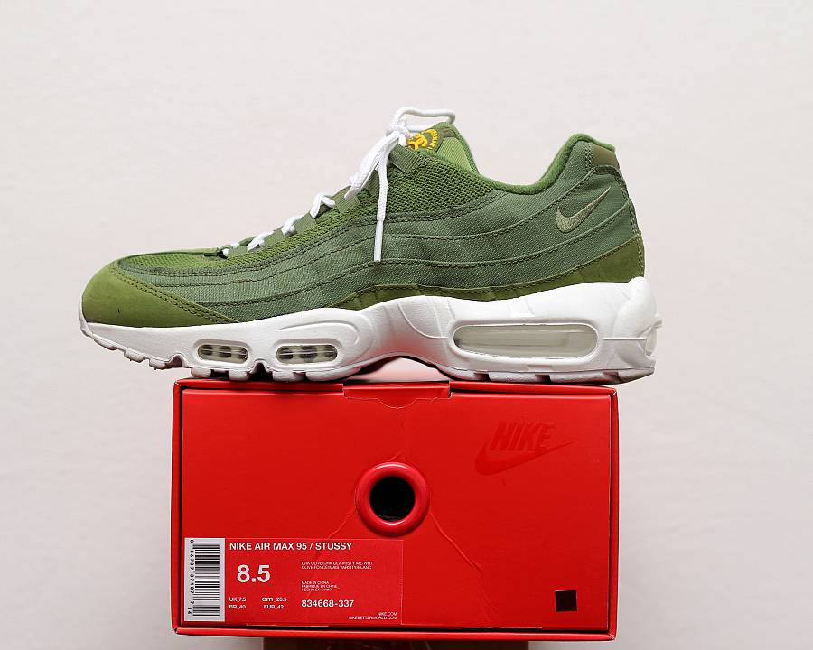 online retailer 8e0e9 b38be Nike Air Max 95 Stussy  Olive  (834668-337) · WOMFT  Marketplace