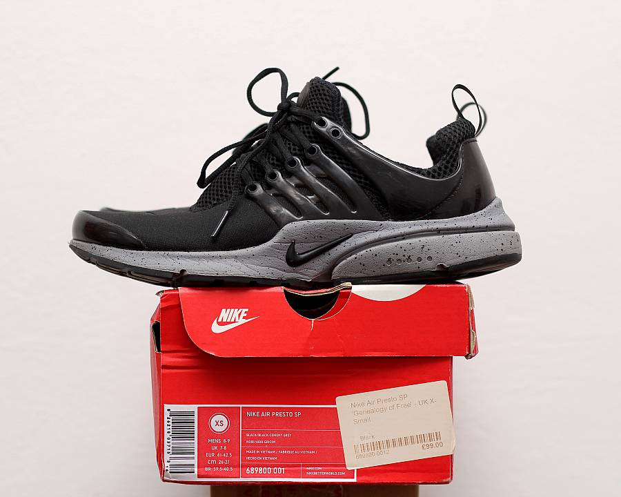 3c77371df610 Nike Air Presto SP  Genealogy of Free  (689800-001) · WOMFT  Marketplace