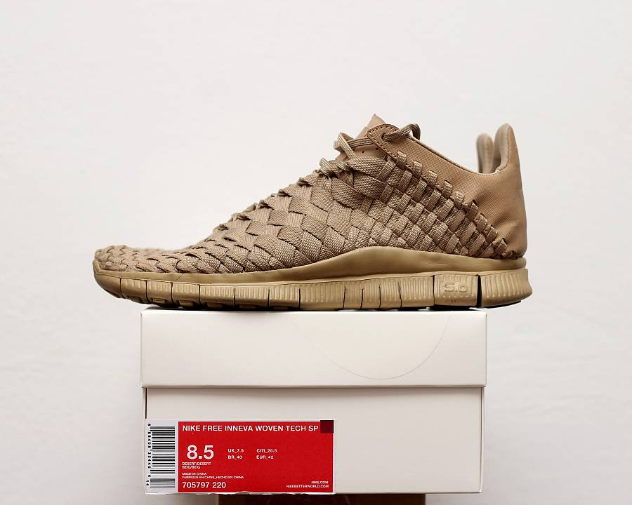 timeless design 8b327 86790 Nike Free Inneva Woven Tech SP  Desert  (705797-220) · WOMFT  Marketplace