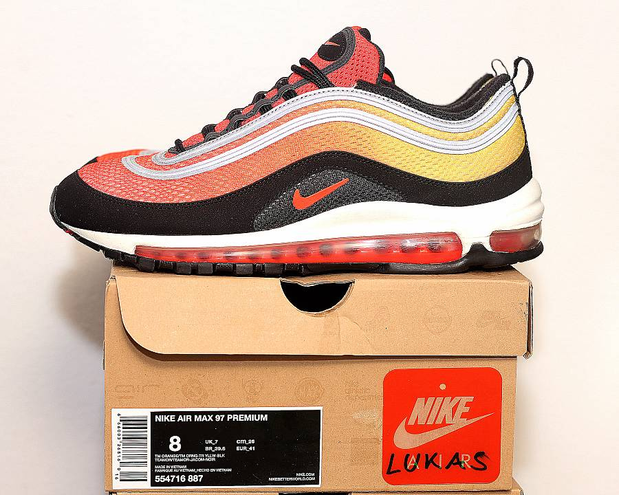 0f299c7744c6c Nike Air Max 97 Premium Sunset Pack (554716-887) · WOMFT? Marketplace
