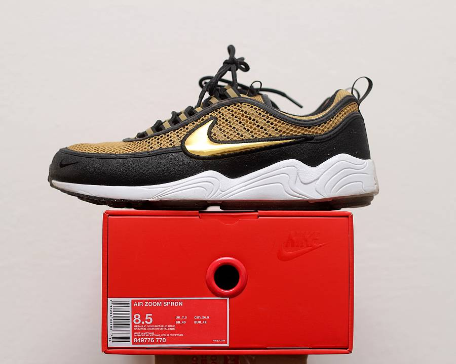 ec1898717772 Nike Air Zoom Spiridon  Gold  (849776-770) · WOMFT  Marketplace
