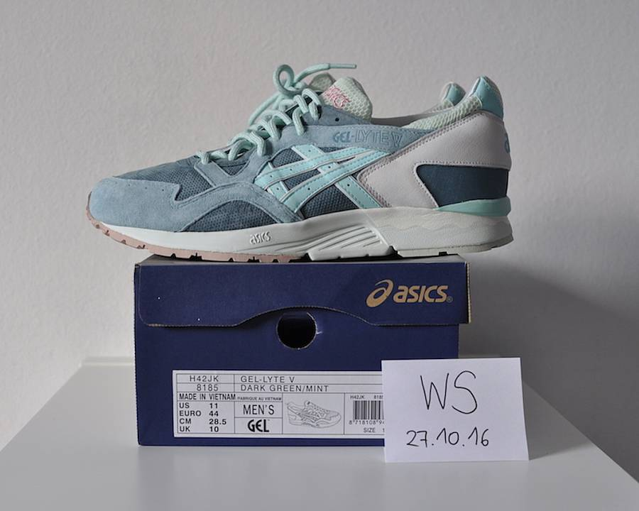 the best attitude 1f903 eee3f Asics Ronnie Fieg Gel lyte V Sage