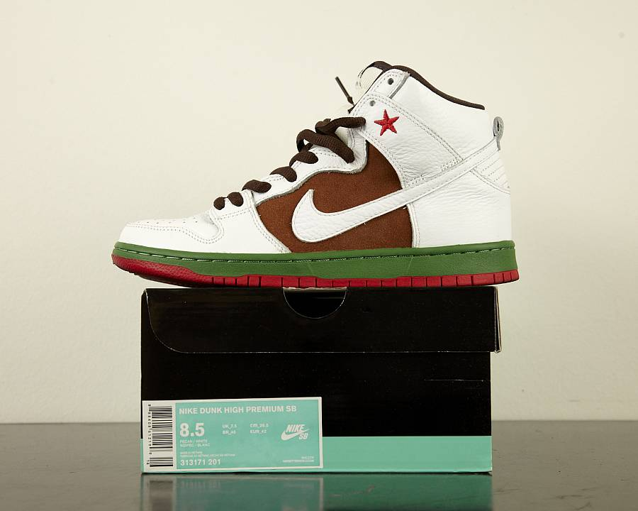 "Nike dunk high premium sb ""california"""