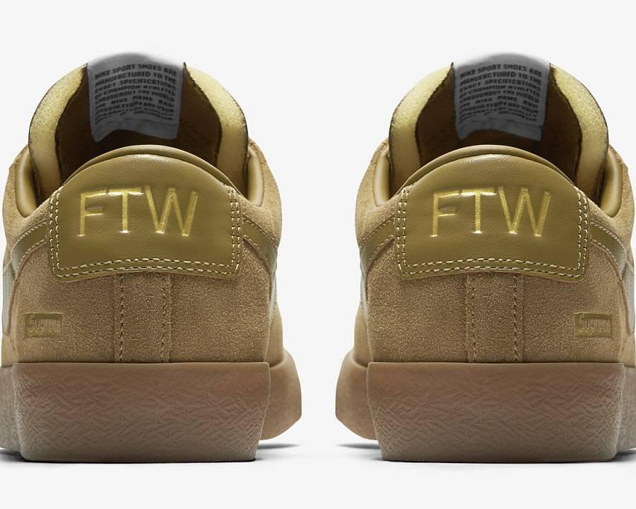 wholesale dealer f2f7e 77638 ... Nike SB Blazer Low GT Supreme Golden Beige